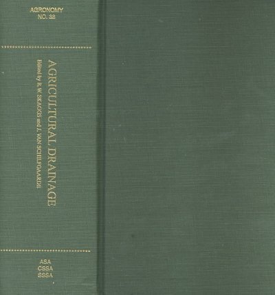 9780891181415: Agricultural Drainage (Agronomy)