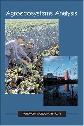 9780891181538: Agroecosystems Analysis (Agronomy, No. 43)