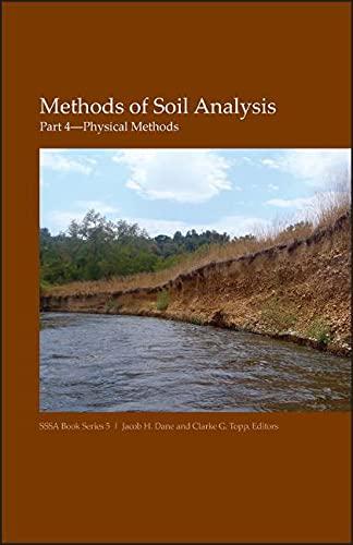 9780891188414: Methods of Soil Analysis. Part 4. Physical Methods (Soil Science Society of America Book Series, Vol. 5)