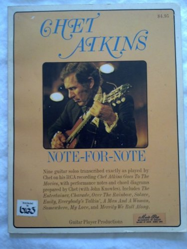 9780891220084: Chet Atkins: Note for Note