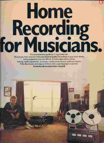 9780891220190: Home Recording for Musicians