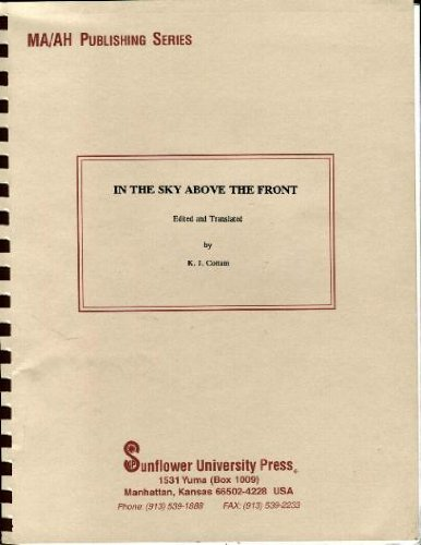 9780891261261: In the Sky Above the Front: A Collection of Memoirs of Soviet Airwomen Participants in the Great Patriotic War
