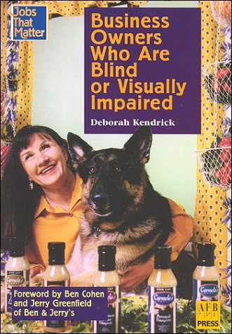 9780891283249: Business Owners Who Are Blind or Visually Impaired (Jobs That Matter)