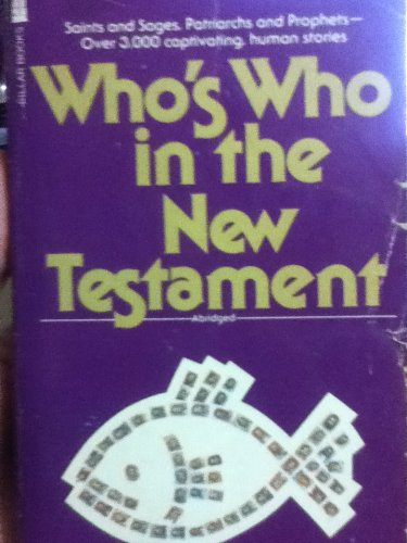 9780891292036: Who's Who in the new Testament