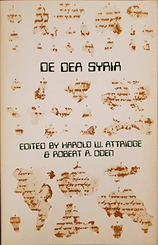 Syrian Goddess (De Dea Syria) Attributed to Lucan [SBL Texts and Translations 9, Graeco-Roman ...