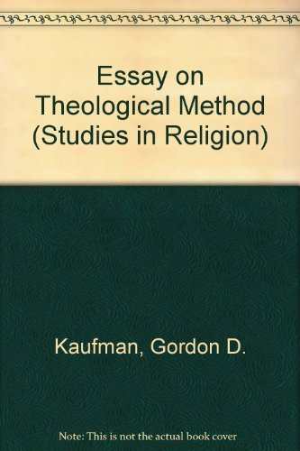 9780891302926: An Essay on Theological Method (Studies in Religion)
