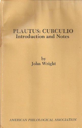 9780891304692: Curculio (American Philological Association Textbook Series)