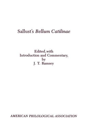 9780891305606: Sallust's Bellum Catilinae