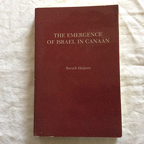 9780891306092: The Emergence of Israel in Canaan (Society of Biblical Literature, Monographic Series, No. 29)