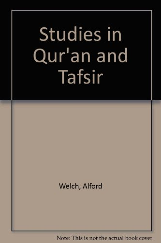 9780891306788: Studies in Qur'an and Tafsir