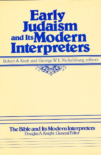 9780891309215: Early Judaism and Its Modern Interpreters (The Bible and Its Modern Interpreters)