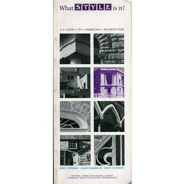 9780891331162: What style is it?: A guide to American architecture