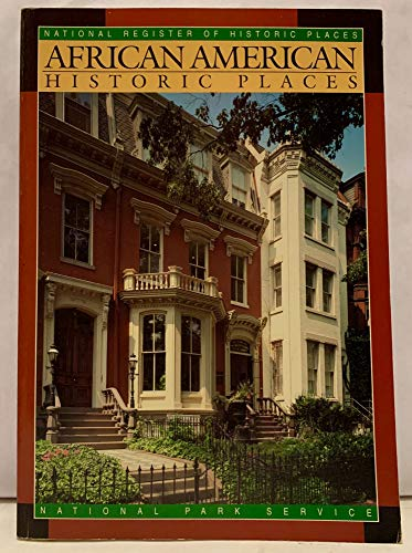 African American Historic Places: National Register Of Historic Places