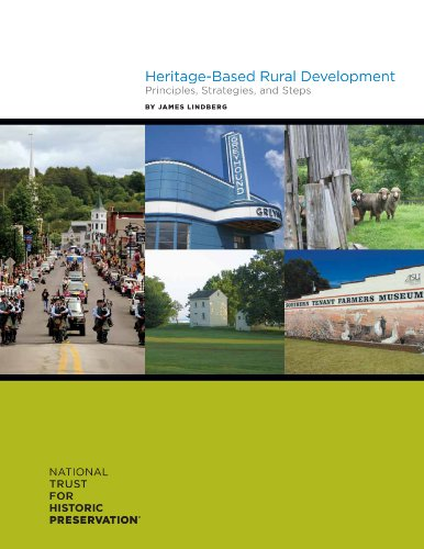 9780891335061: Heritage-Based Rural Development: Principles, Strategies, and Steps