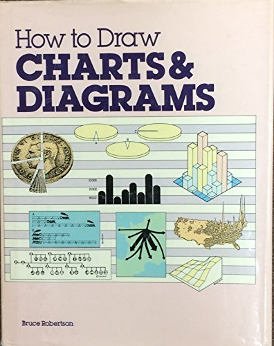 How to Draw Charts and Diagrams (0891342427) by Bruce Robertson