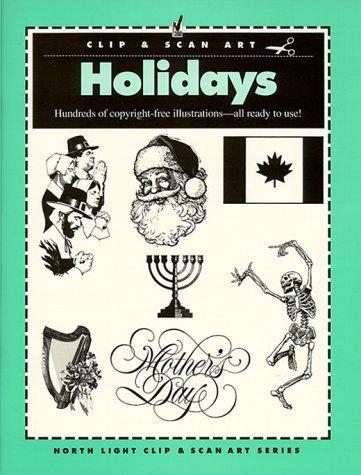 9780891344872: Holidays (North Light Clip Art)