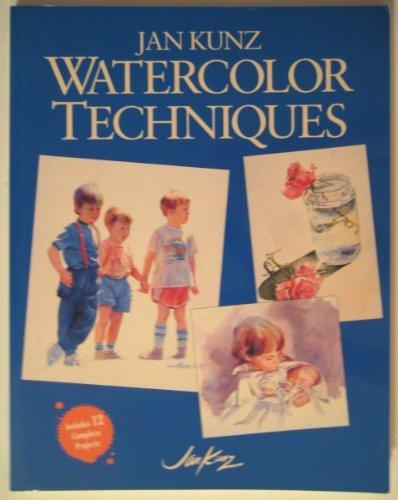 9780891345671: Jan Kunz Watercolor Techniques