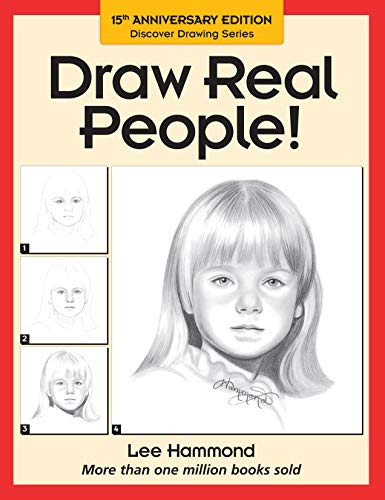 9780891346579: Draw Real People! (Discover drawing series)