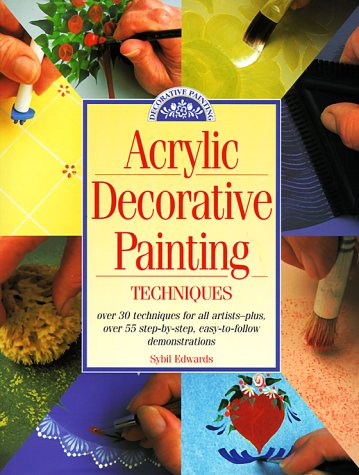 9780891347835: Acrylic Decorative Painting Techniques