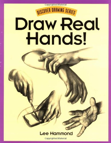 9780891348177: Draw Real Hands! (Discover drawing series)