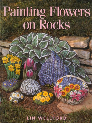 9780891349457: Painting Flowers on Rocks