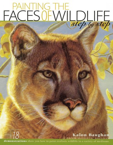 Painting the Faces of Wildlife Step by: Kalon Baughan; Brook