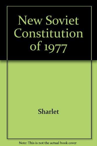 9780891390244: New Soviet Constitution of 1977