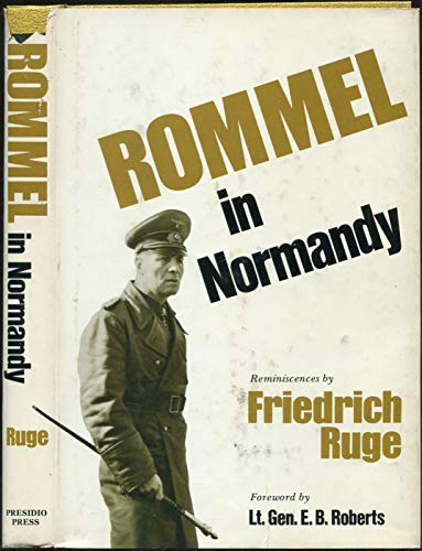 9780891410102: Rommel in Normandy: Reminiscences (English and German Edition)