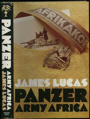 9780891410645: Panzer Army Africa