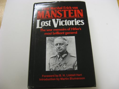 9780891411307: Lost Victories: The War Memoirs of Hitler's Most Brilliant General