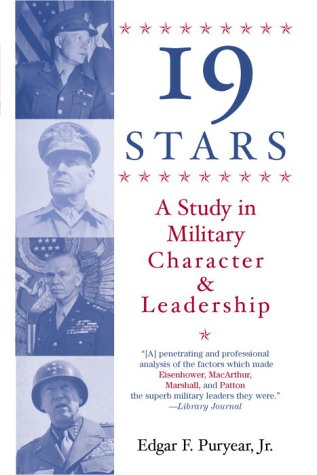 9780891411482: Nineteen Stars: A Study in Military Character and Leadership