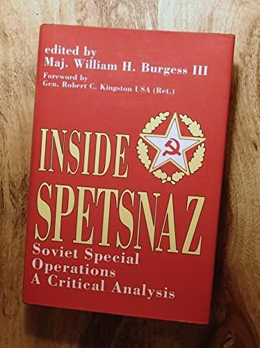 9780891413394: Inside Spetsnaz: Soviet Special Operations : A Critical Analysis