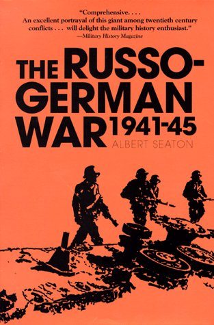 9780891414919: The Russo German War, 1941-45