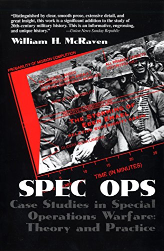 9780891416005: Spec Ops: Case Studies in Special Operations Warfare: Theory and Practice