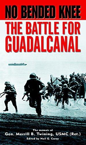 9780891418269: No Bended Knee: The Battle for Guadalcanal