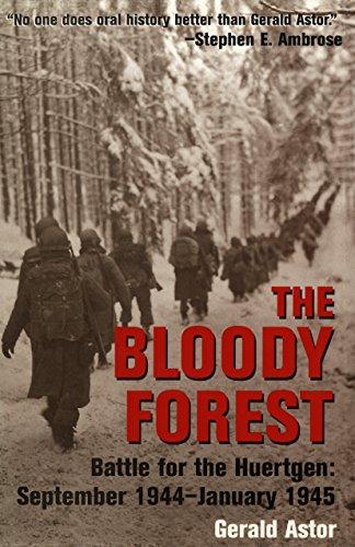 9780891418559: The Bloody Forest: Battle for the Hurtgen: September 1944-January 1945