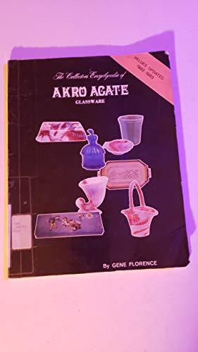 9780891451051: Collector's Encyclopedia of Akro Agate Glassware