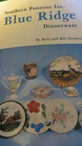 9780891451297: Southern Potteries Inc. Blue Ridge dinnerware