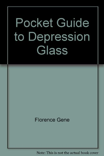 9780891452096: Pocket Guide to Depression Glass