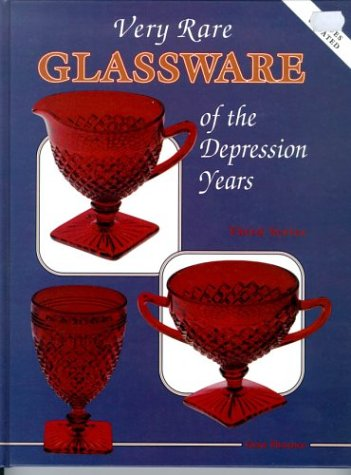 Very Rare Glassware of the Depression Years (0891455108) by Florence, Gene