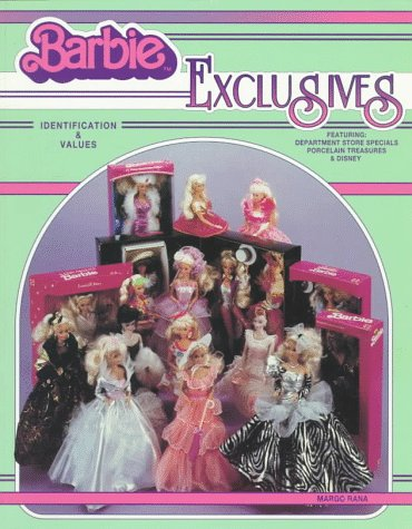 9780891456322: Barbie Exclusives: Identification & Values  Featuring : Department Store Specials Porcelain Treasures & Disney