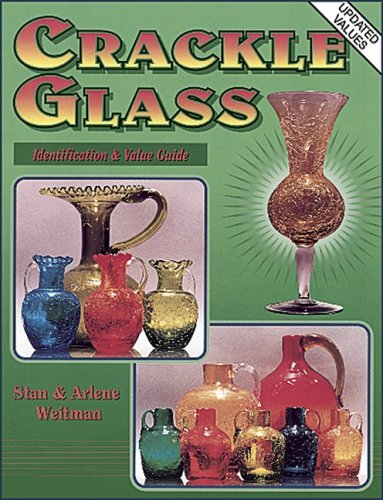 Price Guides & Publications Vintage Crackle Glass Price Guide Collector Book Hardback Color Pics Antiques