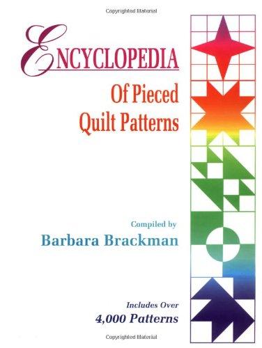 9780891458159: Encyclopedia of Pierced Quilt Patterns