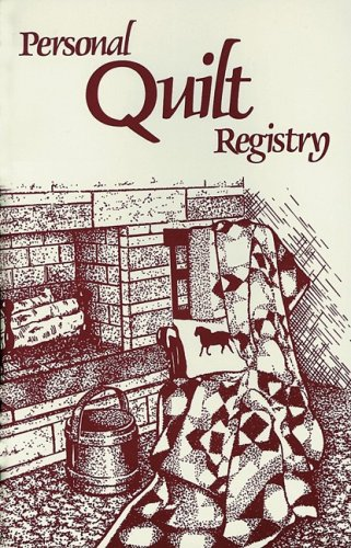 9780891459019: Personal Quilt Registry