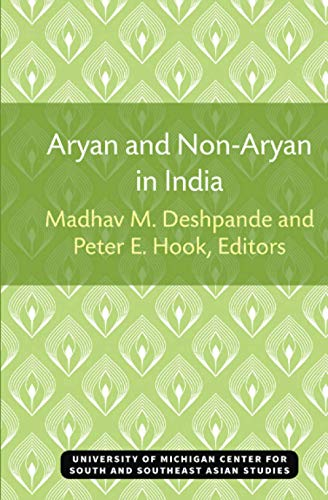 9780891480143: Aryan and Non-Aryan in India (Michigan Papers on South and Southeast Asia)