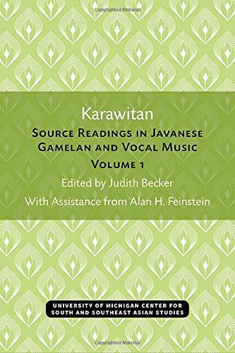 Karawitan: Source Readings in Javanese Gamelan and