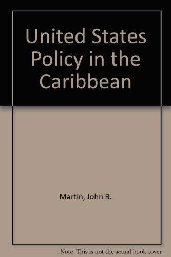 9780891580614: Us Policy In Caribbean/h