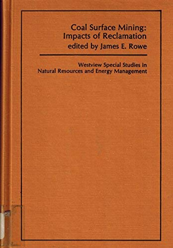 Coal Surface Mining Impacts of Reclamation: James E. Rowe