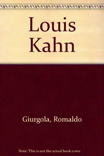 9780891585022: Louis Kahn