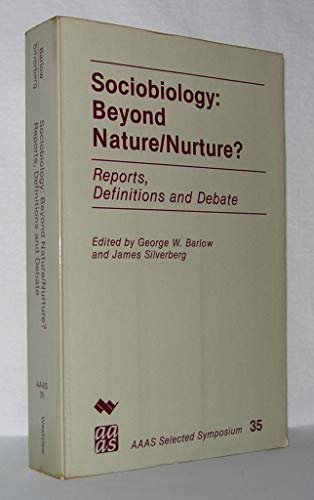 9780891589600: Sociobiology: Beyond Nature Nurture